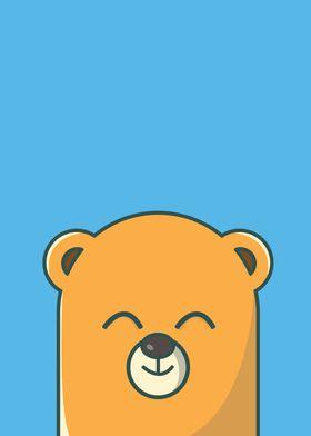 Cute Happy Bear
