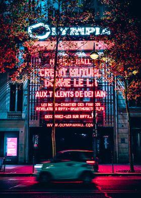 Parisian concert hall