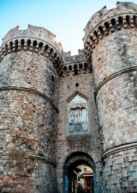 A castle in Greece