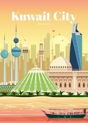 Travel to Kuwait City
