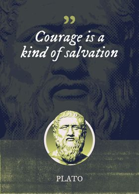 Courage is a kind