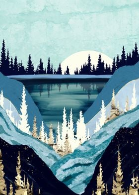 Blue Forest Lake