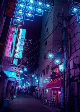 Tokyo Cyberpunk street