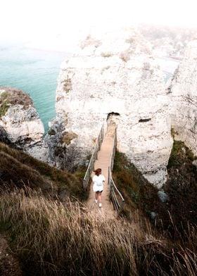 Walk towards the rock