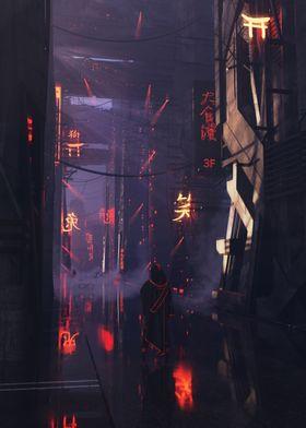 Cyberpunk Nightfall