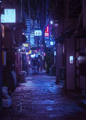Tokyo Cyber night