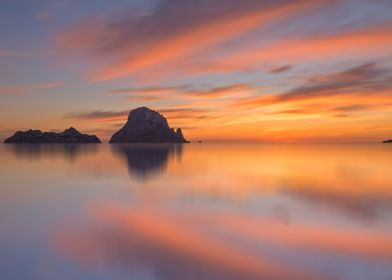 Sunset in Es Vedra Ibiza