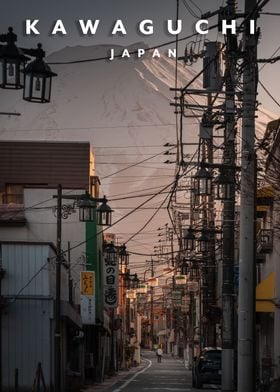 Mount fuji street