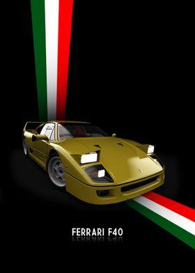 vintage italian supercar