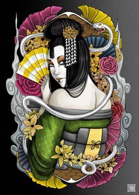 Japanese Goddess Benzaiten