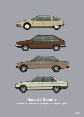 French Luxury Cars