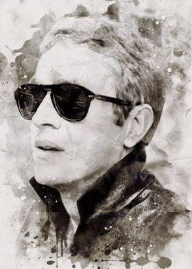 Steve McQueen Print