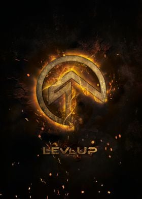LevlUp Logo Art