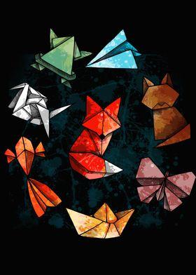Raimbow Origami