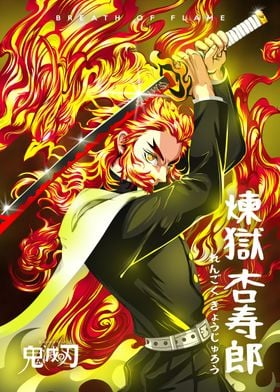 Anime Demon Slayer Rengoku