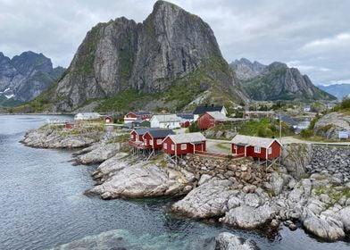 Hamnoy Lofoten Norway