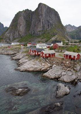 Hamnoy Lofoten in Norway