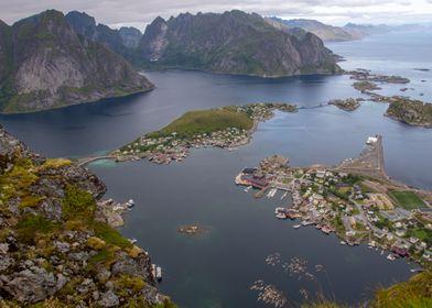Mountain Lofoten Norway