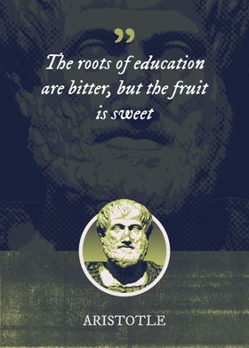 The roots of education are