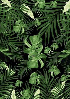 Jungle Night Leaves 5