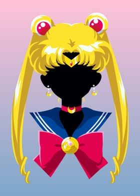 Sailor Moon Black Face