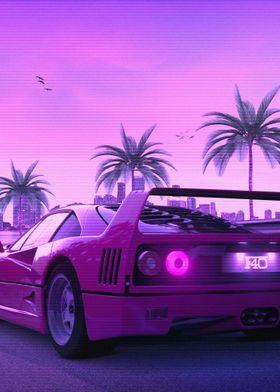 F40 Sunset