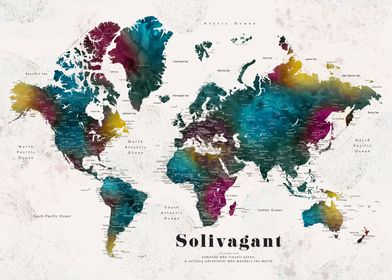 Solivagant Charleena map