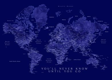 You will never know map