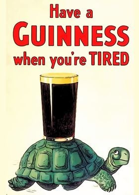 Have a Guinness turtle
