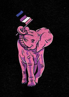 Genderfluid Elephant