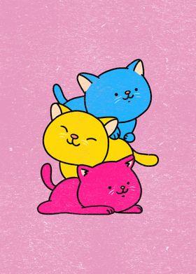 Cat Stack Pan Pride