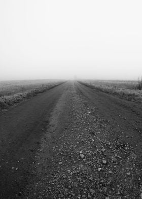 Gravel Road To The Mist