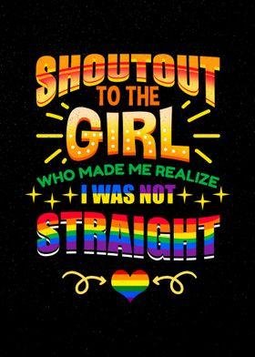 Shoutout The Girl Lesbian
