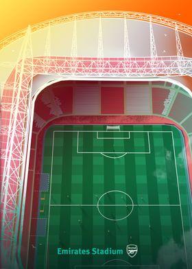 Emirates Stadium Top View