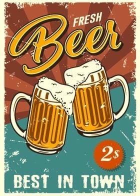 Beer Vintage Bier Retro