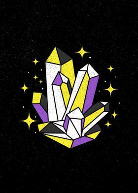 Nonbinary Crystals