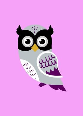 Owl Asexual Pride Flag