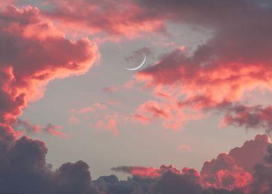 Isla Mujeres Moonrise