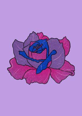 Rose Bisexual Pride