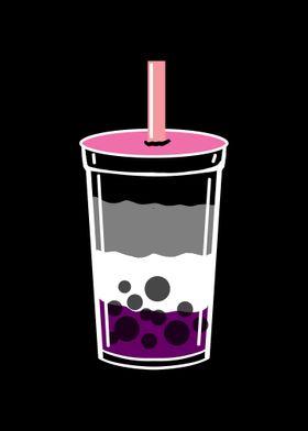 Bubble Tea Asexual Pride