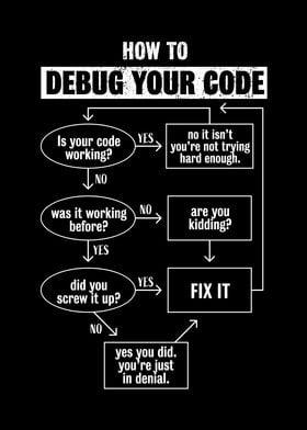 Debug your code Funny Gift