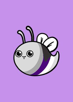 Bee Demisexual Pride Flag