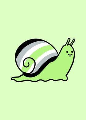 Snail Agender Pride Flag