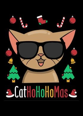 Christmas Animal Cat Lover