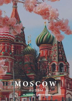 Moscow Coordinate Art