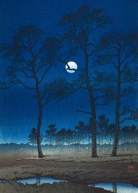 Moonlight Over Toyama