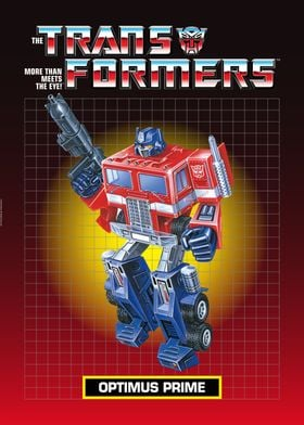 Vintage Optimus Prime