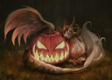 The Pumpkin and the Dragon