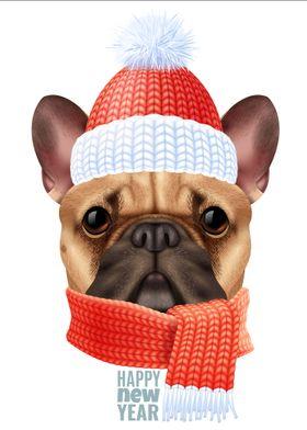 Pug Dog Christmas Gift