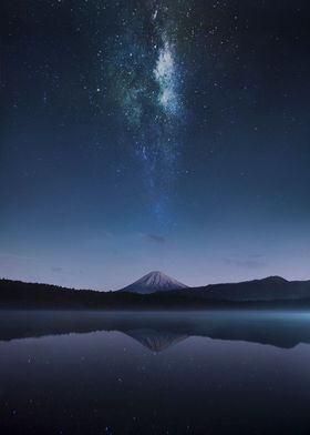 Cosmic Mt fuji